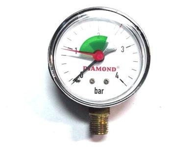 """Manometer 4 bar 63mm 1/4 """"strana - 0081"""