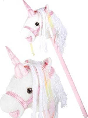 Hojdací koník - LAJKONIK na Laty JEDNOROŻEC na Kij so zvukom