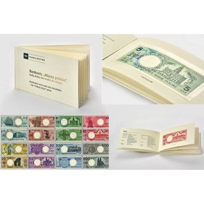 Банкноты города  без надписи nieobiegowe 1990