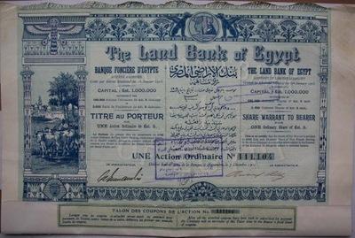 DEKO The Land Bank of Egypt 1905