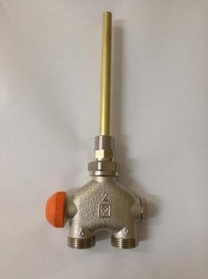 Štvorcestný ventil Termostat. jednoduchý VUA-40 HERZ