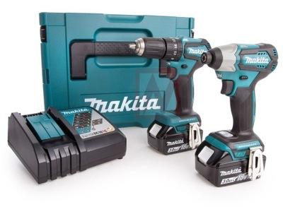 Elektrický skrutkovač - Kompaktný set MAKITA DLX2220JX2 DDF483 + DTD155 Makpa