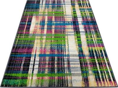 Koberec do detskej izby - Koberec FUNKY TOP 133x180 LIT zelená farba