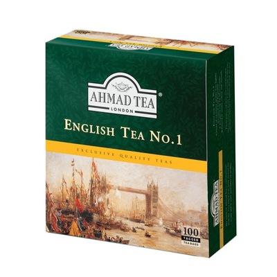 чай черная Ahmad No 1 экспресс 100 штук
