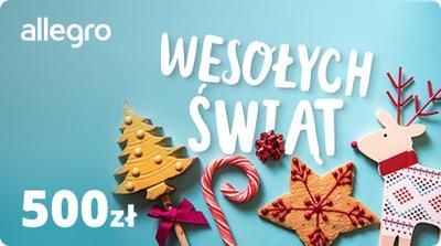 Karta Podarunkowa na Święta - 500 zł