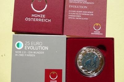 25 EURO-AUSTRIA 2014- EWOLUCJA CZŁOWIEKA +NIOB+CER