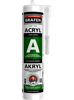 Akrylový tmel biely 300 ml - Grafén Pro