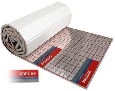 Pena pre podłogówki 3 sm - 65 m2 s alu fólia