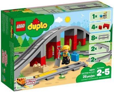 LEGO DUPLO železničnej a viadukt 10872