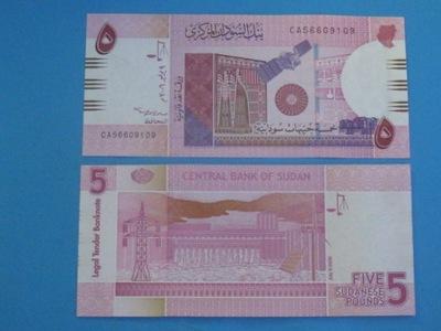Судан Банкнота 5 Бьет 2006 P-?????????? шесть Instagram UNC !