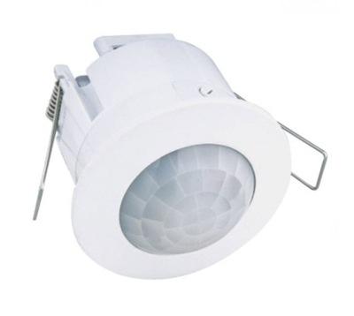 Snímač pohybu stropné LED 230V flush