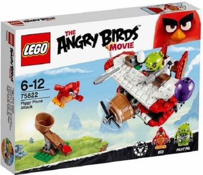 Angry Birds - LEGO Angry Birds 75822 Útokové lietadlá HIT!