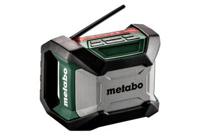 Stavebné rádio -  Rádio stavebnej batérie METABO R 12-18 BT
