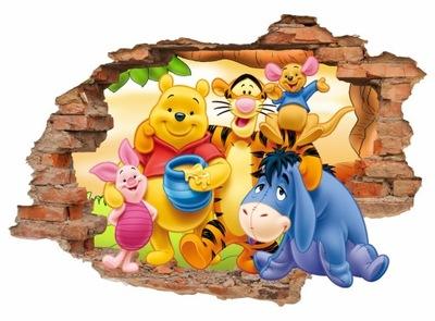 Samolepky na stenu pre deti 3D 100x70cm VZORY D