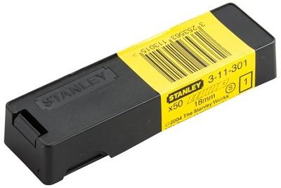 STANLEY Ostrze łamane noży 18mm x 50szt 11-301-3