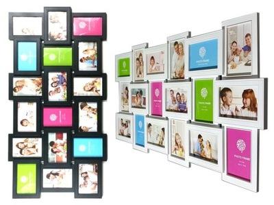 photo Frame Veľmi Veľké FOTO rámček, 2 farby k dispozícii