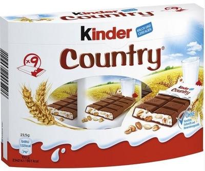 Батончик Kinder Country из Германии