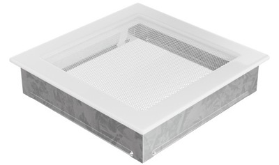 Mriežka 22 x 22 biela krb ventilátor krb
