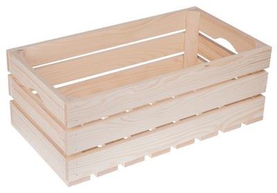 Drevený BOX papierové KRABICI DECOUPAGE ECO