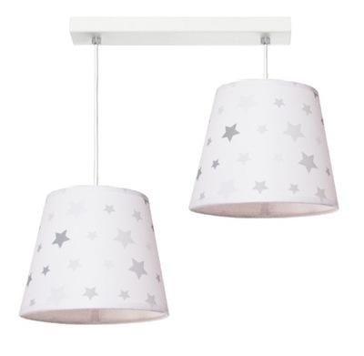 Lampa wisząca STARS 2 - różne kolory abażurów