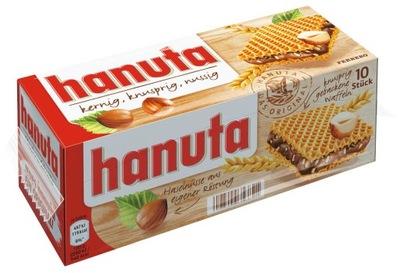 Hanuta вафельки Шоколад из Германии 10 штук
