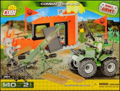 COBI Poligon / Combat training (2164) - 140 elem.