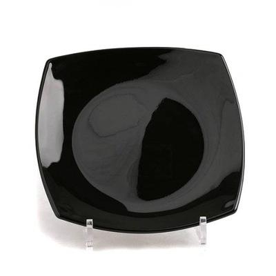 LUMINARC talerz deserowy QUADRATO 18,5 czarny W-wa