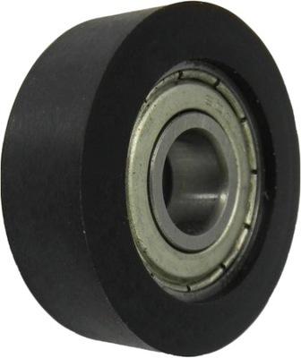 Zváranie prilba Auto NOVA MAGNUM KOLIESKA KOLESÁ vyrobené z polyamidu fi 200 mm 15 mm 150 kg VOZÍK