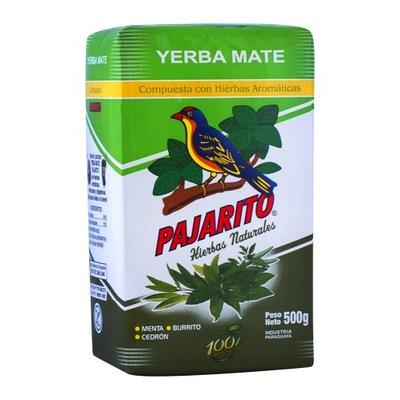 Yerba Mate Pajarito Compuesta Hierbas Ноль ,5 кг 500 г