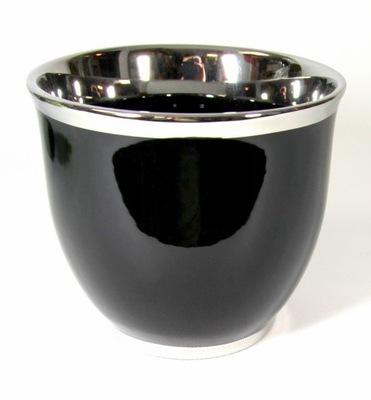 Shell keramické Black/silver?14 cm