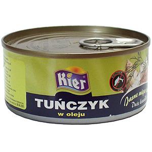 тунец в масле - большие куски 170г Червей
