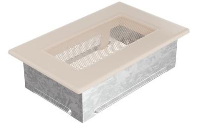Mriežka vetrací otvor, krb cream beige 11x17