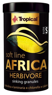 Tropical AFRICA HERBIVORE S SOFT 250 мл 150 г МАЛАВИ