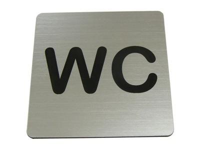 TABLICZKA NA DRZWI WC toaleta  piktogram