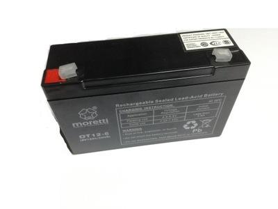 гелевый аккумулятор 6V 10AH 20HR усиливается !!!, фото