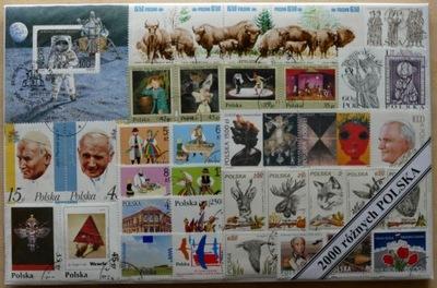 комплект ??? тысячи польских марок в пакете