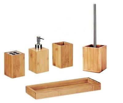 Szczotka Do Wc Bambus W Zestawy Akcesoriów łazienkowych
