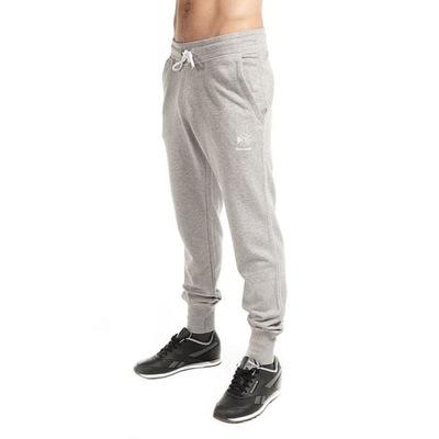 REEBOK spodnie męskie szare play dry K77280