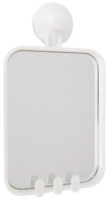 Зеркало для ванной комнаты косметические термостакан белое