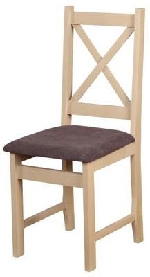 2 Krzesla Drewniane Kolor Sosna Poduszki Kuchnia 6841023345