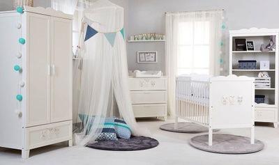 MARSELL белое Мебель детское комплект Мебель
