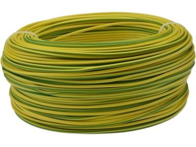 Kábel, drôt, kábel LGY 2,5mm2 žltá/zelená 100m