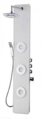 Sprcha - Sprchový panel Tore biela