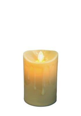 Свеча LED 8 см Подвижный пламя вклад украшение