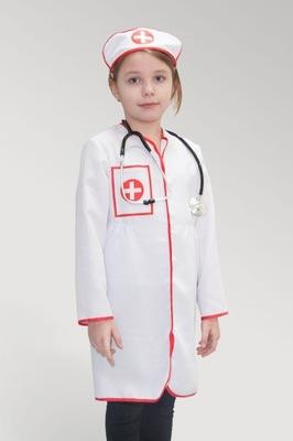 Zestaw małego lekarza strój lekarza, pielęgniarki