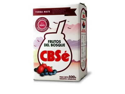 Yerba Mate Cbse FRUTOS DEL BOSQUE 500 г Ягоды