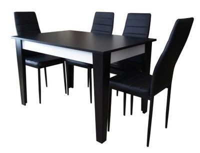 ??? столовой стол 80x120-165 и 4 Современные стулья