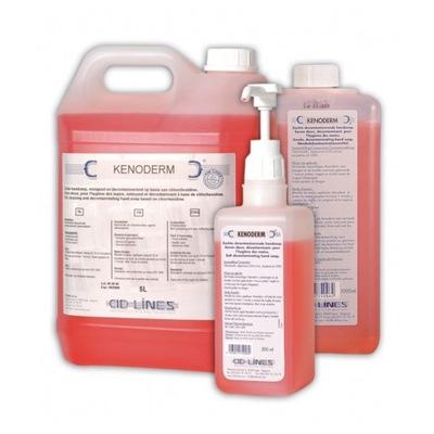 Pre hygienická dezinfekcia rúk KENODERM mydlo 5L