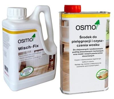 Осмо Wisch - Fix 8016 1л + Осмо 3029 прозрачный 1л