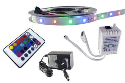 комплект лента LED 300SMD 2835 3528 RGB драйвер 5м